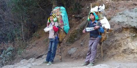 HJ - Porteurs népal