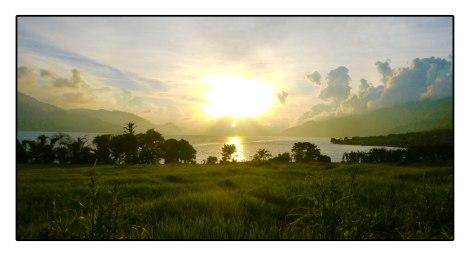 27 - Sunset-Takengon-lake---indonesia