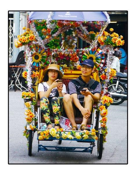 Couple-Becak---Penang,-Malaysia