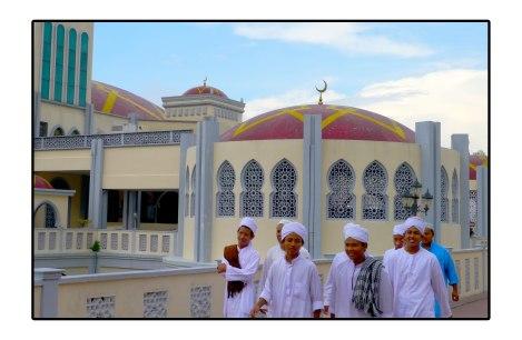 Islam-young-Penang,-Malaisia